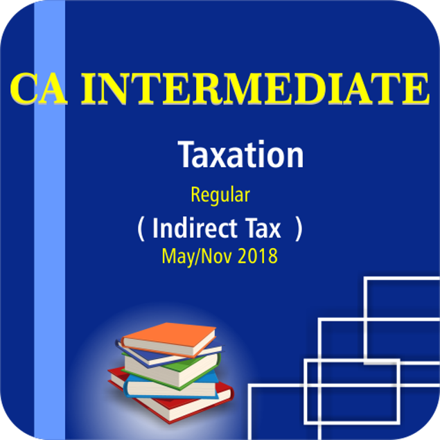 Picture of TAXATION(INDIRECT TAX) MAY/NOV 18