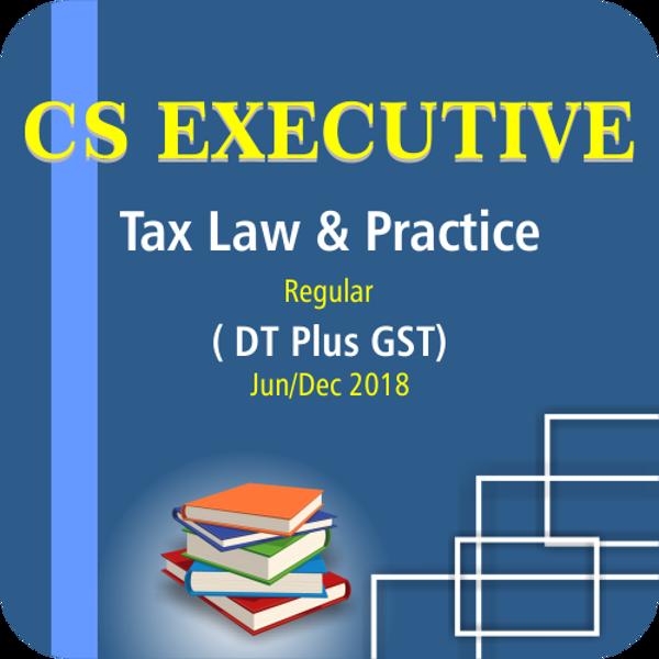 Picture of TAX LAW & PRACTICE ( DT PLUS GST) ( JUNE / DCE 18)