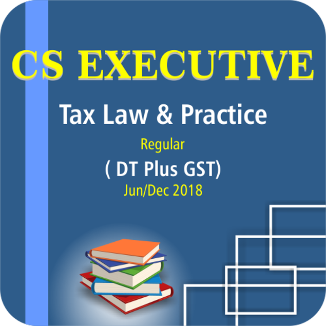 Picture of TAX LAW & PRACTICE ( DT PLUS GST) ( JUNE / DCE 18)