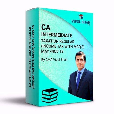 Picture of CA INTERMEDIATE TAXATION REGULAR (INCOME TAX) - Book