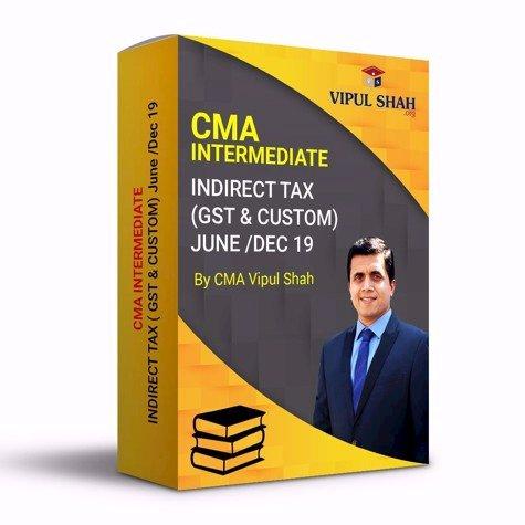 Picture of CMA INTERMEDIATE INDIRECT TAXATION REGULAR (GST & CUSTOM) - Book