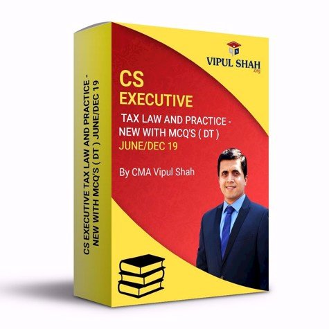 Picture of CS EXECUTIVE TAX LAW AND PRACTICE - NEW( DT ) JUNE/DEC 19 - Book