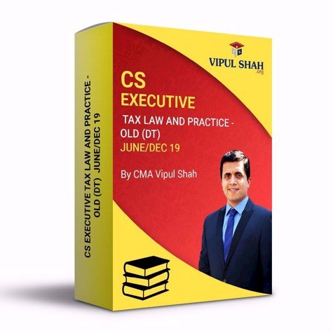 Picture of CS EXECUTIVE TAX LAW AND PRACTICE - OLD (DT) JUNE/DEC 19 - Book