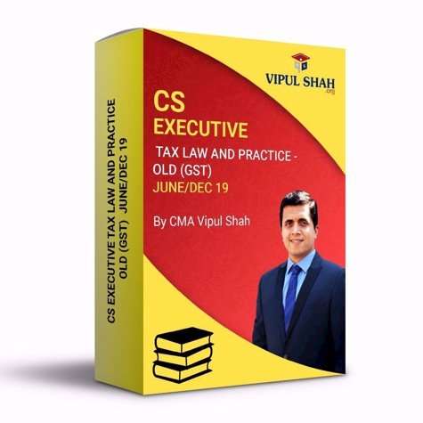 Picture of CS EXECUTIVE TAX LAW AND PRACTICE - OLD (GST) JUNE/DEC 19 - Book