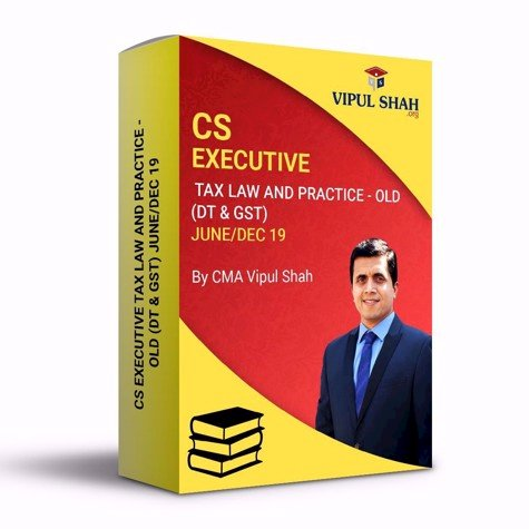 Picture of CS EXECUTIVE TAX LAW AND PRACTICE - OLD (DT & GST) JUNE/DEC 19 - Book