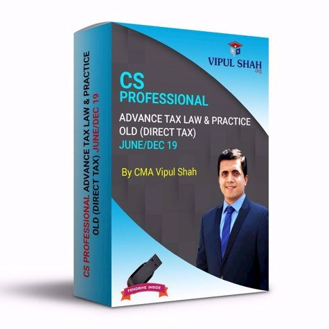 Picture of CS PROFESSIONAL  ADVANCE TAX LAW & PRACTICE- OLD (DIRECT TAX) JUNE/DEC 19 - Book