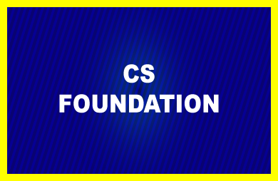 Picture for category CS FOUNDATION