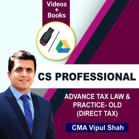 Picture of CS PROFESSIONAL  ADVANCE TAX LAW & PRACTICE- OLD (DIRECT TAX) JUNE/DEC 20