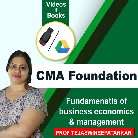 Picture of CMA FOUNDATION  - Fundamentals of Business Economics and Management