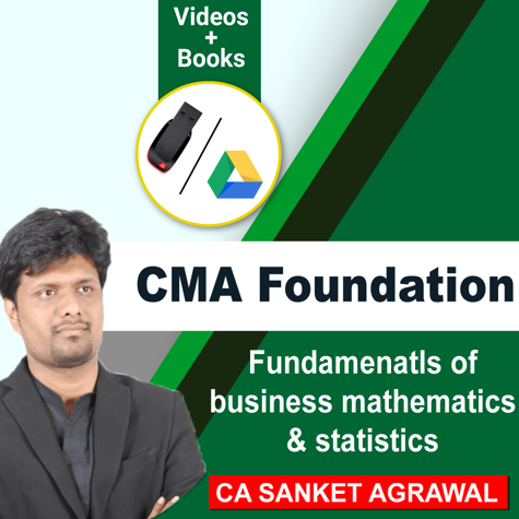 Picture of CMA FOUNDATION  - Fundamentals of Business Mathematics and Statistics