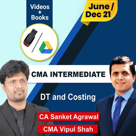 Picture of CMA INTERMEDIATE DIRECT TAXATION  + Costing
