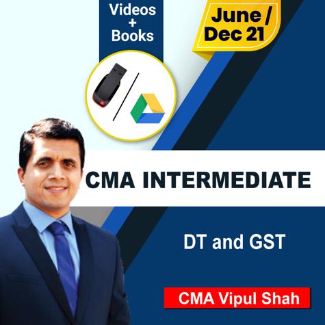 Picture of CMA INTERMEDIATE DIRECT TAXATION  + GST