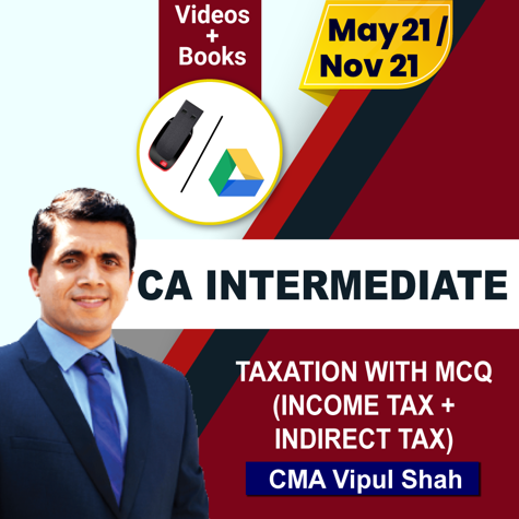 Picture of TAXATION WITH MCQ REGULAR(INCOME TAX + INDIRECT TAX)