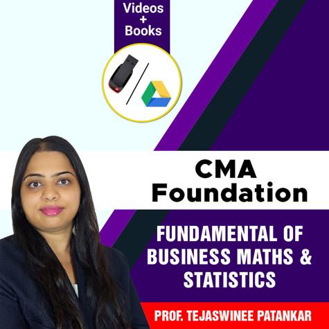 Picture of CMA Foundation  - Fundamental of Business Mathematics and Statistics